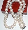 De color de agua dulce Natural de perlas cultivadas collar verdadero de la perla collar de precio