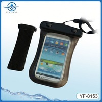 Hot selling for samsung galaxy note n7000 waterproof arm case