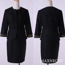 Ladies office uniform design / hot sale black office uniform designs 2014