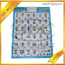New English Wall Chart for chlid learning/wall chart for baby learning