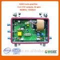 3 salidas catv amplificador/tv cable amplificador de señal