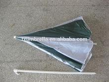 hot sale steel frame polyester round beach umbrella