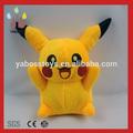 Venta al por mayor lindo muñeco de peluche de felpa pikachu/pokemon de juguete de felpa