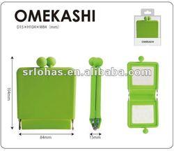 """""""OMEKASHI"""" silicone purse mirror"""