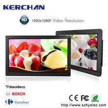 13 inch multi function digital photo frame for supermarket/ shopping mall