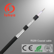RG59 coaxial cable rg59 cable FPE,CCS/CCA coax cable rg59 for CCTV CATV MATVwith CE/RoHS
