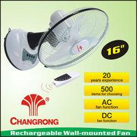 "QUALITY 16"" Wall Mounted Fan 3 Speed oscillate Hydrophonics Cooling Fan"