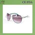 China wholesale sunglasses Fashion Acetate sunglass round lense metal eyeglasses