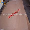 Linyi miglior prezzo okumè/bintangor/matita cedro/legno duro rosso compensato commerciale