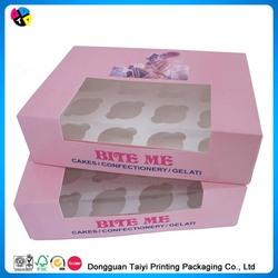 cupcake/ pastry box