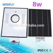China Intefly, Distributor supply high quality human sensing solar street light