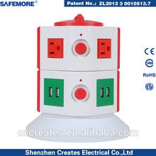110v American style socket outlet electrical socket with usb power socket