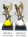 Alta calidad de encargo 3D grabado gorra de béisbol trofeo