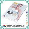 Full color cheap custom advertising brochure samples printing