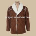 2014 homens inverno médio classic jaqueta estilo/tela da camurça/jaquetas casuais/adlut revestimento dos homens