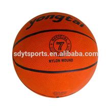 size 7 ,rubber cheap basketball