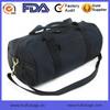 Durable Canvas Cotton Black Travel Duffle Bag Cross Body Gym Duffle Bag