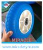China hot sale flat free wheel barrow tire pu foamed wheel 3.00-4 260x85