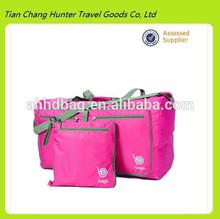 China supplier foldable travel duffle bag