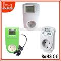 Enchufe en el controlador de temperatura/termostato digital