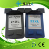 inkjet cartridge for H21(C9351A) / H22(C9352A) compatible inkjet cartridge for HP printer F5610 D1360