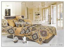 European Pattern Print Cotton Duvet Quilt Cover Set