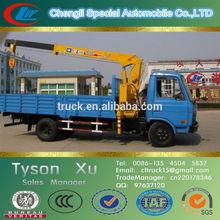 crane overhead, truck mounted folding arm crane, 5 ton hydraulic crane