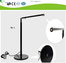 USB modern dimmable black ultra bright office led reading light