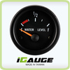 2 inches CE ISO analog boat auto gauge water level meter