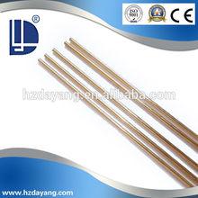Preço de fábrica liga de cobre brasagem rod / latão fio HS221