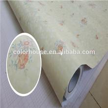 3d pvc self adhesive colorful waterproof wallpaper