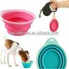custom logo fda dog feeding folding bowl dog bowl fda silicone