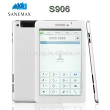 "7"" quad core IPS screen 1G+16G 2MP+5MP 4200MAh GPS+BT+FM+3G android tablet"