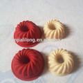 stampo in silicone a forma di cuore per il sapone