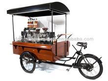 summer hot sale mobile cafe bike for sale