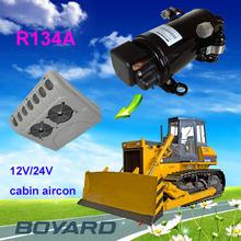 hybrid solar air conditioning with RoHS R134A BLDC 24v 48v DC compressor