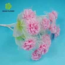 designer brands china artificial flower bouquet carnation