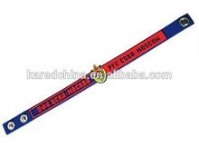 Christmas gift 2014 promotional customize kid cool rubber bracelet led bracelet
