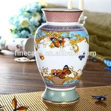 Luxury Fine New Bone China Antique Ceramic Vase of Song of Joy