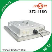 Outdoor wireless 2.4 ghz long range video transmitter