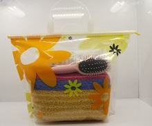 folding waterproof bag beach bag storage pouch