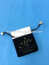 timbro caldo gioielli coulisse sacchetto di velluto