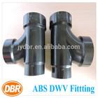plumbing pipe 2*1.5*1.5 sanitary Tee reducing PVC pipe and fittings/toilet drain pipe fitting