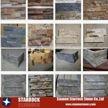 Manfacturer natural slate ledger stones different types
