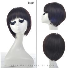 Favorites Compare factory wholesale fashion women 100% brazilian remy human hair short wig,bang fringe straight virgin hair