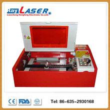 Mini co2 laser engraving cutting machine engraver 40w