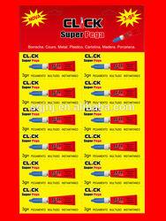 New click super silicon sealant 3gR