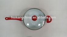 pressed aluminium frying pan with lid