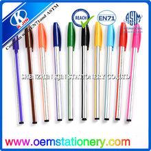 2014 novel design custom pen high quality ball pen for promotion