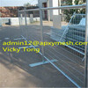 double electric galvanized temporary fence easy fence